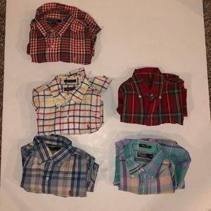Polo Ralph Lauren Boys Size 18 Button Down Shirts